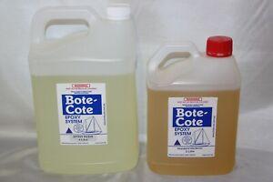 Bote-Cote 6.0 Litre Premium marine epoxy resin kit. Safer hardener.