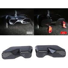 2 Pcs Car Rear Seat Air Condition Vent Outlet Duct Cover For 2013-2018 Mazda CX5