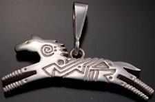 Silver Running Horse Pendant by Ray Tracey - Vn52F