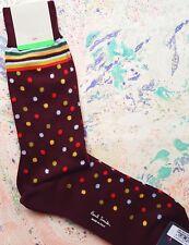 Paul Smith Mens Italian Socks Multi Mixer Damson Multicolour K528 OneSize Cotton