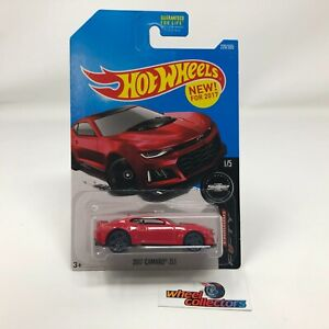2017 Camaro ZL1 #220 * RED * 2017 Hot Wheels * WH23