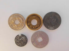 Lot of Five Tax and Trade Tokens