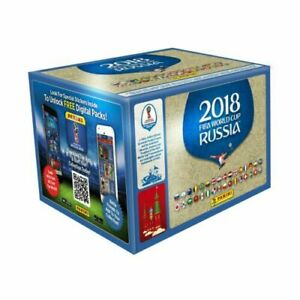 Panini World Cup Russia 2018 - 1 NEW & SEALED BOX of 500 stickers (100 packets)