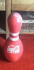 More details for vintage skittle from 10 pin bowling with coca cola logo