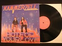 KAMMERZELL - Hot For Your Love - 1979 Private Vinyl 12'' Lp./ Hard Rock Metal