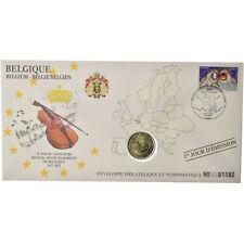 [#487236] Belgique, 2 Euro, 2012, Enveloppe philatélique numismatique, SPL