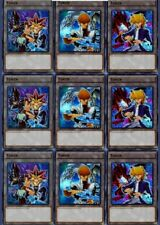 3 X Yami Yugi + 3 X Seto Kaiba + 3X Joey 9 Cards Ultra Token Set LDK2 Yu-Gi-Oh!