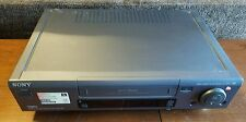 New listing Sony Slv-761Hf Video Cassette Recorder Used Tested Working *