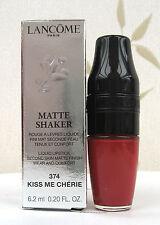 LANCOME Matte Shaker Liquid Lipstick finitura opaca-KISS ME CHERIE - 374-NUOVO NELLA SCATOLA