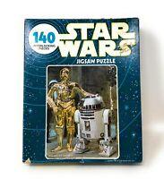 Kenner 1977 Star Wars Artoo-Detoo & See-Three Pio R2D2 C3PO Jigsaw Puzzle