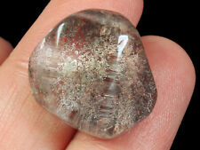 21.75Ct Natural Ghost Scene Rutilated Quartz Faceted Cut MYJG173
