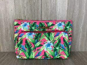 NWT Tommy Bahama Maui Beach Bag, Artsy Leaf Color Floral