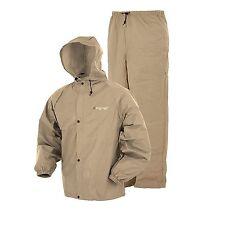 NEW Frogg Toggs Pro Lite Rain Suit, Khaki, Medium/Large, A7.1