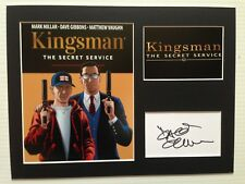 [A0789] Dave Gibbons KINGSMAN Signed 12x16 Display AFTAL