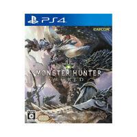 Monster Hunter World PlayStation PS4 2018 Japaese Factory Sealed