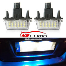 LED License Plate Light for Toyota Yaris (2012-) Camry (2013-) number plate lamp