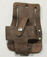 Proto Stanley 25' & 30' Leather Tape Measure Rule Holder For Tool Belt
