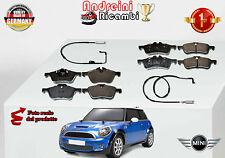 KIT 8 PASTIGLIE FRENO ANTERIORI+POST MINI COOPER S  120KW DAL 2004