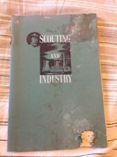Scouting And Industry Vintage scout booklet 1957