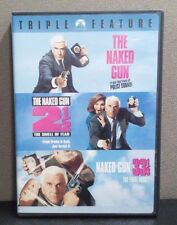 The Naked Gun Triple Feature   (3 DVD Set)    LIKE NEW
