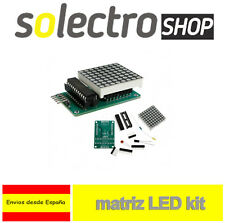 Kit Matriz led 8x8 MAX7219 Arduino PIC Dot Matrix Display cascada DIY M0062