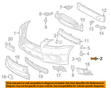 TOYOTA OEM Front Bumper-Bumper Cover Fastener 4774906010