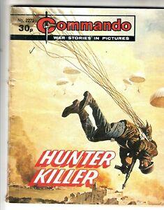 COMMANDO COMIC - No 2272   HUNTER KILLER