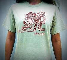 Linda Schele Ancient Maya Water-Lily Jaguar T-Shirt Mesoamerica Cats, Sacrifice
