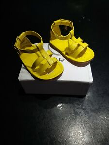 box Authentic baby Dior baby sandals girls Size 18 in box