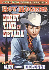 Roy Rogers Double Feature: Night Time in Nevada 1948 / Man from Cheyenne 1942