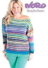 NORO ::Spring Into Summer by R. Woodland & K. McLeod:: pattern book 16 designs