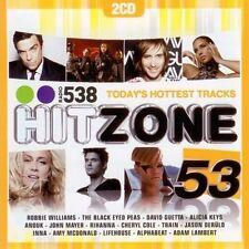 Hitzone 53  new 2-cd with David Guetta,Inna,Anouk, Train )
