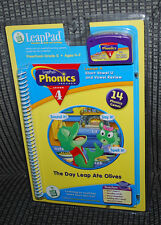 Leap Frog Leap Pad Interactive Book Cartridge Phonics Ages 4-7 Lesson 4 Learning