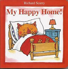 MY HAPPY HOME by Richard Scarry Children's Reading Picture Story Board Book NEW