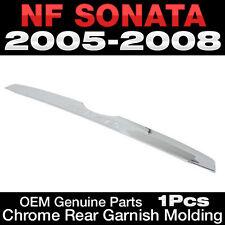OEM Genuine Parts Chrome Rear Garnish Molding For HYUNDAI 2006-2010 NF Sonata