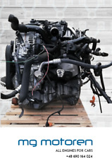 MOTOR ENGINE AUDI A4 B8 2.0 TDi CAGA CAG 88kW 100 kW 105 kW OHNE ANBAUTEILE TOP!
