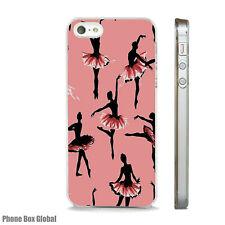 DANCERS BALLET BALLERINA PINK  CASE FITS IPHONE 4 4S 5 5S 5C 6 6S 7 8 SE PLUS X