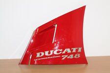CARENAGE LATERAL SUPERIEUR DROIT pr DUCATI Desmoquatro 748  ..Ref: 48010401A (a)