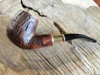 pfeife Manelli spigot bruyere briar pipe tabakpfeife filter9mm 178G gr.68 oz.2,4