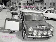 Rauno Aaltonen Mini Cooper S JBL 495D ALPINE RALLYE 1966 Photographie 1