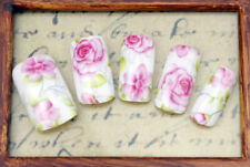 Rose Flowers Water Transfers Nail Art Stickers Decals Tips Decoration