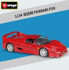 Bburago 1:24 Ferrari F40 F50 Metal Die cast Supersports Car New in box