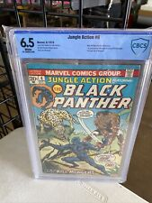 JUNGLE ACTION  #6 CBCS 6.5 FN WHITE Pages 1st Appearance KILMONGER