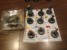 Heroclix 10 piece lot Fear Itself Book of the Skull 012 Heimdall 015 Attuma