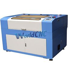 Reci W2 100W Co2 Laser Engraving Engraver & Cutting Cutter Machine 900x600mm USB