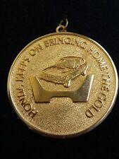 Honda Gold Medal Replica Sales Award Vintage 1976 Keeps Bringing Home The Gold