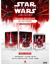 """""""Star Wars: The Last Jedi """"  Blu-ray   2D+3D COMBO"""