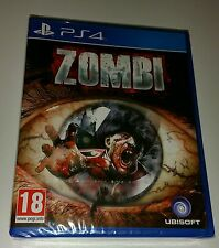 Zombi PS4 Nuovo Sigillato UK Pal Versione Game SONY Playstation 4 UBISOFT Zombie