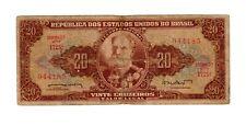 billet 20 cruzeiros serie 1725