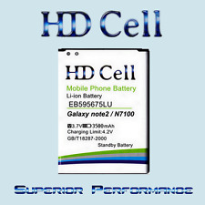 3500mAh HD Cell Battery Samsung Galaxy Note 2 N7100 /LTE N7105 N7102 EB595675LU